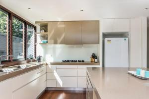 A kitchen or kitchenette at A PERFECT STAY - Amalfi Villa