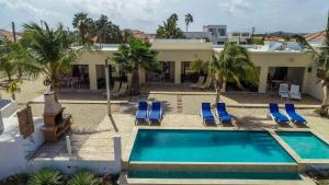 A view of the pool at Casas del Sol or nearby
