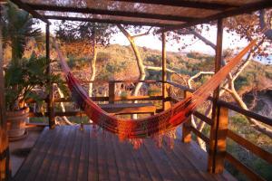 A balcony or terrace at Il nido d'amore sul mare