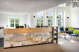 Lobby/Rezeption in der Unterkunft Hotel Bellinzona Sud Swiss Quality