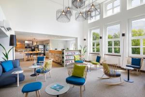 Ein Restaurant oder anderes Speiselokal in der Unterkunft Hotel Bellinzona Sud Swiss Quality