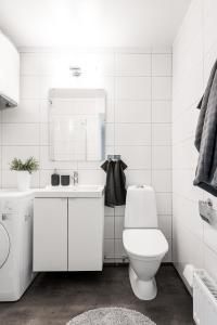 Ett badrum på Rämsbyns Fritidsby