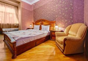 Cama ou camas em um quarto em Elvin's Luxury Apartment