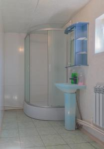 Ванная комната в Motel in Arkhipovka