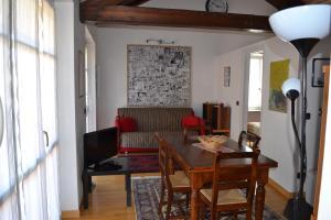 Area soggiorno di Alba Romantica Apartment