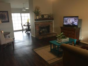 A television and/or entertainment center at Jane's house in Rockwall