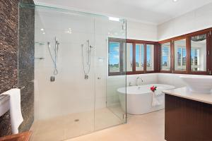 A bathroom at Seaforth at Broadbeach