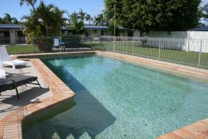 The swimming pool at or near Ballina Fun`n`Sun Motel