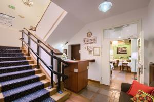 Hol lub recepcja w obiekcie Hotel Sitarska