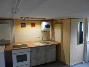 Küche/Küchenzeile in der Unterkunft Ferienwohnung Winter