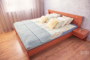 Łóżko lub łóżka w pokoju w obiekcie Apartament 201 w Hotelu DIVA