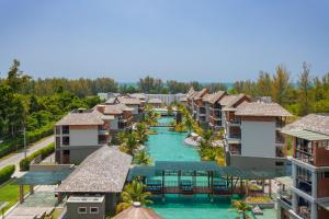 A bird's-eye view of Mai Khao Lak Beach Resort & Spa