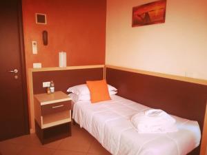 Letto o letti in una camera di New Hotel Europa