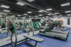 The fitness center and/or fitness facilities at Borodino Hotel