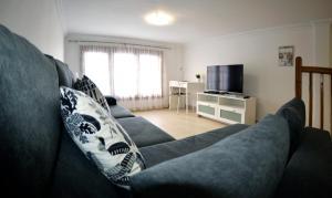 Zona de estar de Centrico, elegante, acogedor y cerca de la PLAYA con Parking gratis