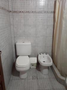 Un baño de Hostal Paseo de los Colorados
