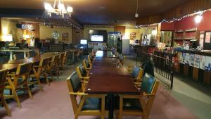 A restaurant or other place to eat at HWY6HOTEL