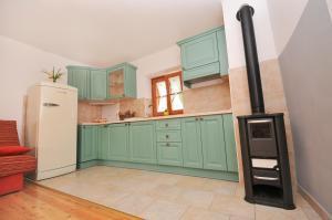 Kuhinja oz. manjša kuhinja v nastanitvi Apartments Tonkli