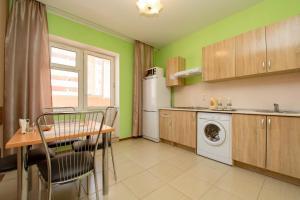A kitchen or kitchenette at SleepPanorama