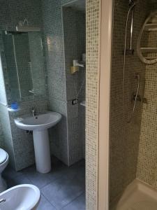Ванная комната в Albergo Villa Marina