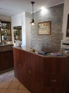 Лобби или стойка регистрации в Albergo Villa Marina