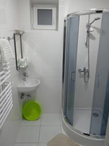 Ванна кімната в Guest House at Lesya Ukrainka