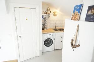 Küche/Küchenzeile in der Unterkunft Gamla Kungsgatan Kalmar