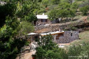 Letecký snímek ubytování Robinson beach house Jogo