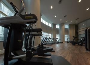 The fitness center and/or fitness facilities at JW Marriott Hotel, Kuala Lumpur