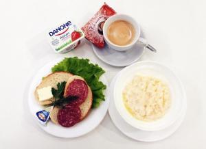 Завтрак для гостей Гостиница «Призма»