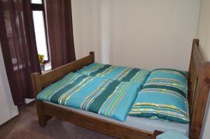 Postel nebo postele na pokoji v ubytování Stará pošta