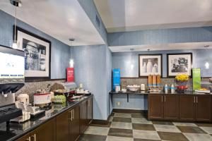 A restaurant or other place to eat at Hampton Inn State College