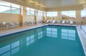 The swimming pool at or near Macon Marriott City Center