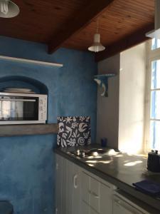 A kitchen or kitchenette at Symi Greece