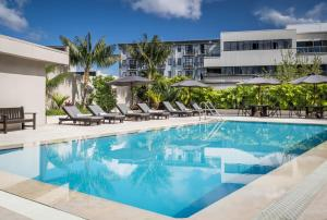 The swimming pool at or near Cordis, Auckland by Langham Hospitality Group