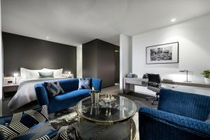 The Melbourne Hotelにあるシーティングエリア