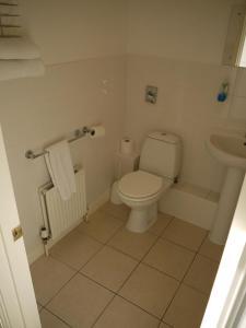 A bathroom at The Lodge