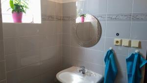 A bathroom at Krásný apartmán v centru Písku