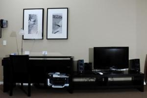 A television and/or entertainment center at Chancellor Executive Apartments