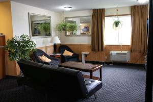 A seating area at East Grand Inn