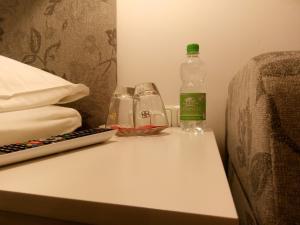 A bathroom at Pension Wachau