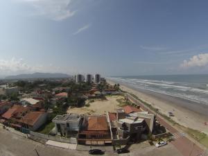 Uma vista aérea de Resort Itanhaém