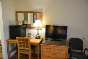 A television and/or entertainment center at The Ship Motel