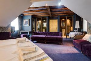 A seating area at Boutique Hotel Hippocampus
