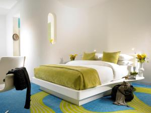 A bed or beds in a room at My Brighton