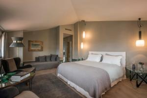 A bed or beds in a room at Villa GILDA Relax & Living