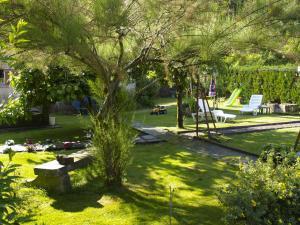 Jardin de l'établissement Aux Studios du Parc
