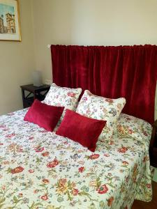 A bed or beds in a room at Cazires AT