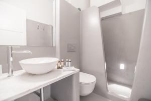 A bathroom at Agave Santorini Design Boutique Hotel