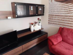 Część wypoczynkowa w obiekcie Apartament Kielce Lecha